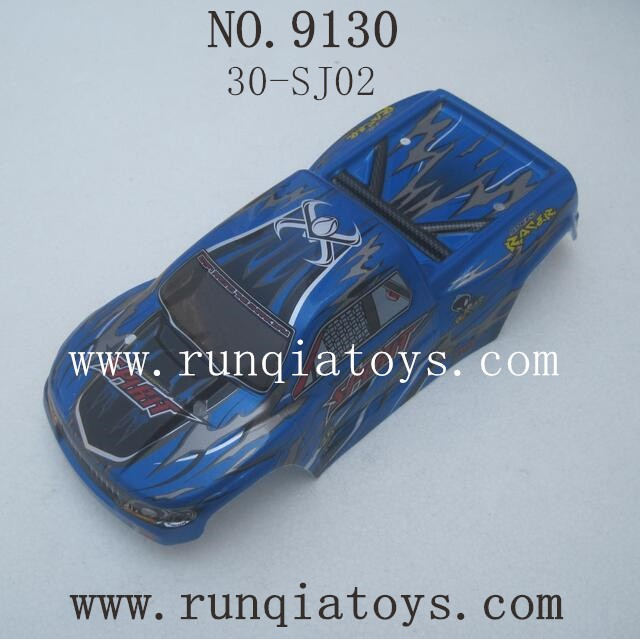 XINLEHONG TOYS 9130 Parts-Car Shell-Blue 30-SJ02