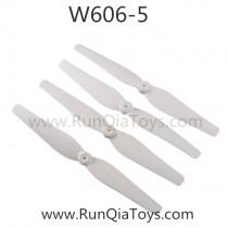 Huajun W606-5 Flanker quadcopter main blades