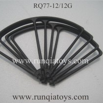 RunQia RQ77-12 blades Guards