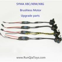 SYMA X8C X8W X8G brushless motor kits