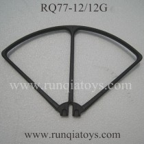 RunQia RQ77-12 drone blades Guards