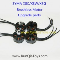 syma x8w x8g brushless motor kits