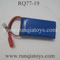 RUNQIA TOYS RQ77-19 Drone Lipo Batter