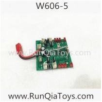 Huajun W606-5 flanker quadcopter PCB Board