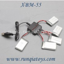 Xiao bai ma T-smart XBM-55 quadcotper charger and  Battery