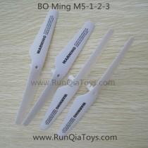bo ming m5 quadcopter main blades