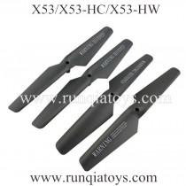 FULAIYING X53 Quadcopter main blades