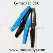 G-maxtec 860 quadcopter main blades