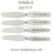 HUAJUN W606-6 QQ-FLY FPV Blades