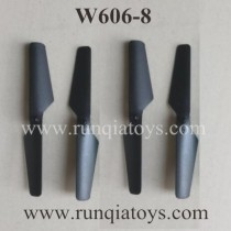 HUAJUN W606-8 Quadcopter propellers