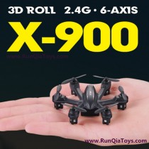 MJX R/C X-900 quad-copter review