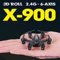 MJX R/C X-900 quad-copter review