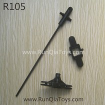 Runqia toys R105 helicopter head shaft