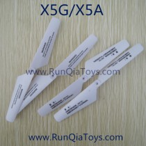 runiqia quadcopter x 5 g main blades