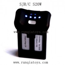 SJRC S20W Drone battery black COLOR