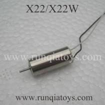SYMA X22W drone motor black wire