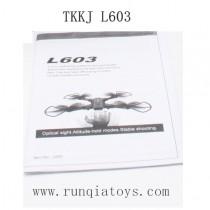 TKKJ Classic L603 Manual