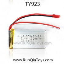 TY-923 spare parts battery 1500mah
