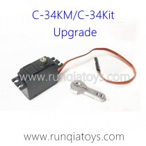 WPL C-34KM RC Truck Upgrade Parts Servo