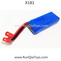 Xinlin X81 FPV Quadcopter lipo battery