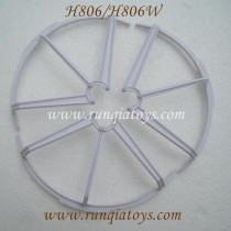 Helicute H806 H806W hexacopter blades guards