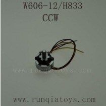 HUAJUN W606-12 H833 Parts-Brushless Motor CCW