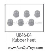 udirc u846 rubber feet