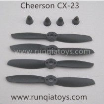 Cheerson CX23 quadcopter propellers