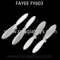 Fayee FY603 drone Propellers white