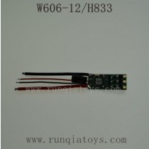 HUAJUN W606-12 H833 Parts-ESC Board