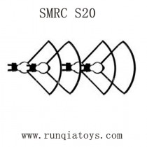 SMRC S20 Drone Parts-Propellers Guards