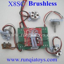 SYMA X8SC Brushless Motor Kits