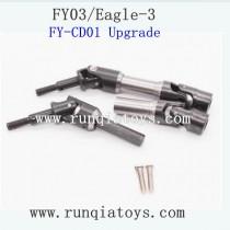 FEIYUE FY03 Eagle-3 upgrades Axle Transmission black