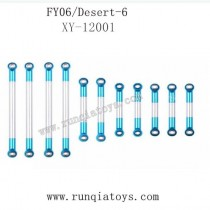 Feiyue fy06 upgrade parts-Metal Steering Rods XY-12001
