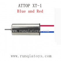 ATTOP XT-1 Drone Parts-Motor-YDA26-10 Blue and Red Wires