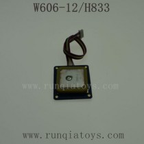 HUAJUN W606-12 H833 Parts-GPS Mode Board