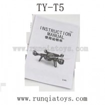 TYH Model TY-T5 Parts-English Manual