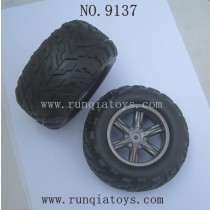 XINLEHONG TOYS 9137 Parts-Wheels