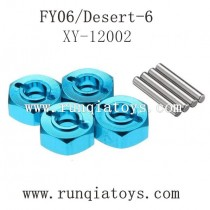 Feiyue fy06 upgrade parts-Metal Hexagon Set