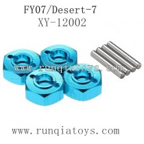 Feiyue fy07 upgrades parts-Metal Hexagon Set XY-12002
