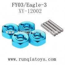 FEIYUE FY03 Eagle-3 upgrades-Metal Hexagon Set