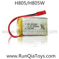 Helicute H805W H805 wifi fpv drone battery