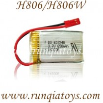 Helicute H806 H806W hexacopter Battery