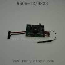 HUAJUN W606-12 H833 Parts-Receiver Board