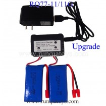 RUNQIA Toys RQ77-11 quadcopter Battery and Charger
