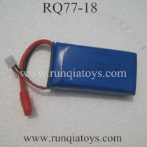 RUNQIA RQ77-18 Quadcopter 7.4V Battery