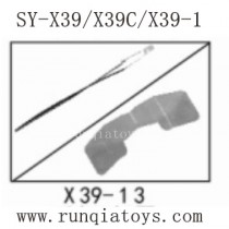 Song Yang Toys X39 Parts Rear LED and Cover X39-13
