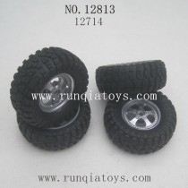 HBX 12813 survivor MT parts Wheels Complete