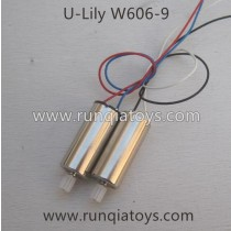 HUAJUN W606-9 Drone Motor  with mini Gear