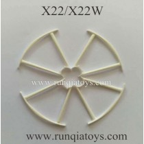 SYMA X22W drone Propellers Guards